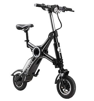 Bicicleta Eléctrica Adulta, Mini Solos Hombres Ligeros Plegables Y Vespa Pequeña De Las Mujeres,