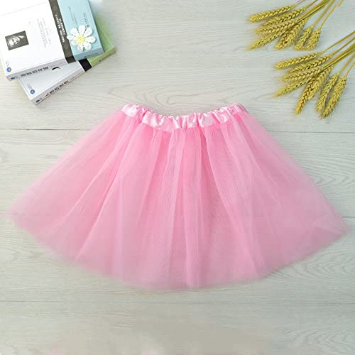 Ahzdnzvr Girls Tutu Skirts Ballet Dance Costume Three Tier Chiffon Children Skirts Amazon Ca Clothing Accessories