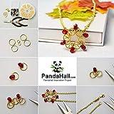 PandaHall Elite About 700 Pcs Iron Split Rings