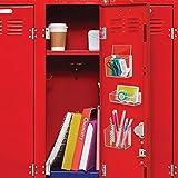 mDesign Plastic Self Adhesive Storage Organizer