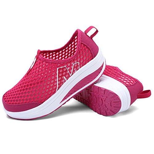 Semelle Padgene Femme Compens Chaussures Baskets wPH1qBX