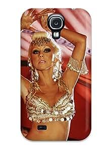Perfect Tpu Case For Galaxy S4/ Anti-scratch Protector Case (christina Aguilera) 2774078K69274559