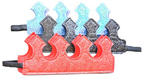 [Boy Toddler Crown Fun Play Time Glitter Stretch Crown Set: Red, Blue, Black] (Tea Cake Costume)