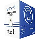 VIVO New 1,000 ft bulk Cat5e Ethernet Cable/Wire UTP Pull Box 1,000ft Cat-5e Waterproof Outdoor/Direct Burial/Underground (CABLE-V003)