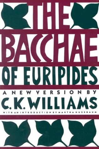 "an analysis of the artistic theme in the play the bacchae of euripides Theatrical devices in 'the glass menagerie  memory play,"" the glass menagerie can be  in favor of an exaggeration of the elements of the artistic medium."
