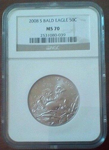 2008 S Bald Eagle Commemorative 50C Half Dollar MS70 NGC