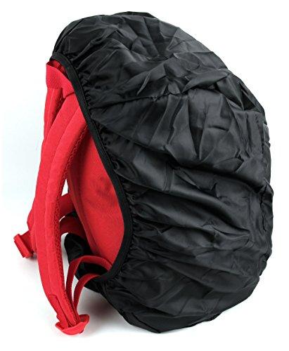 DuraGadget roter Rucksack für HAIER Chromebook 11, Chromebook 11E und Cloudbook H1161 Laptops