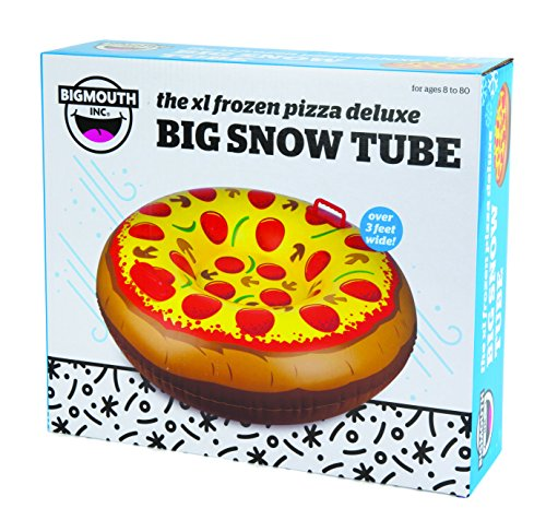 Big Mouth BigMouth Giant Supreme Pizza Snow Tube Ride On by BigMouth Inc (Image #2)