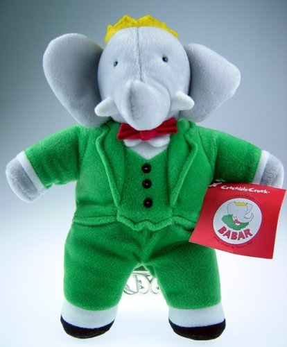 Amazon Com Crocodile Creek Babar Plush Toy 8 Toys Games