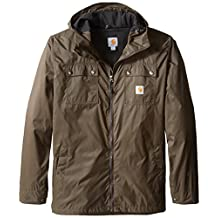 Carhartt mens Big & Tall Rockford Rain Defender Jacket