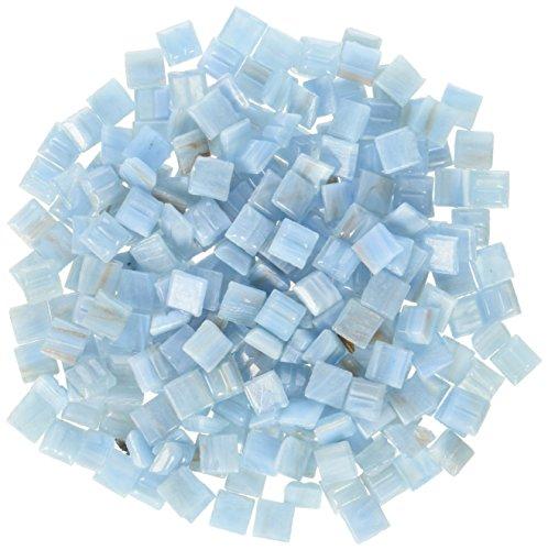 Mosaic Mercantile Mini Metallic Glass Tile, Heaven, 1-Pound (Metallic Mosaic Tiles Mini)
