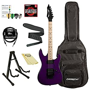 dean guitars custom zone ii floyd solid body electric guitar kit with chromacast accessories. Black Bedroom Furniture Sets. Home Design Ideas