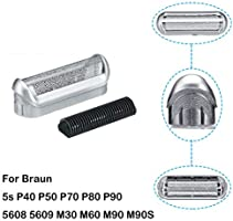 Protector de pantalla y cortador de lámina 5S para Braun, cabezal ...