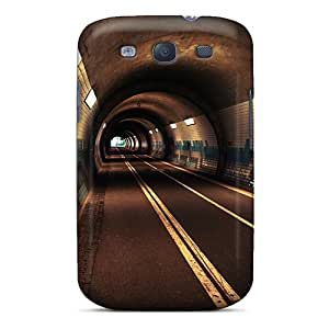 Durable Case For The Galaxy S3- Eco-friendly Retail Packaging(underground Tunnel)