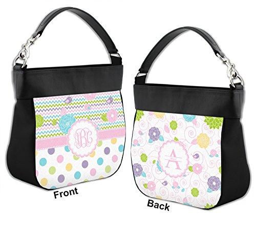 Leather Purse Genuine Hobo Back w amp; Trim Girly Girl Front Personalized wqPUXc6BH7