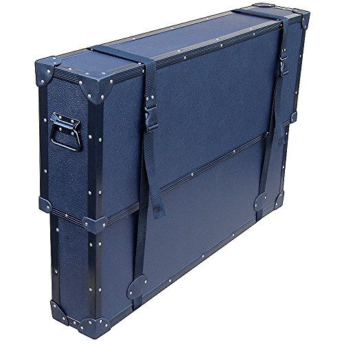 Plasma Case - 50 Inch Led Lcd Tv Tuffbox Economy Slim Light Duty Road Case W/telescoping Adjustable Lid by Roadie Products, Inc.