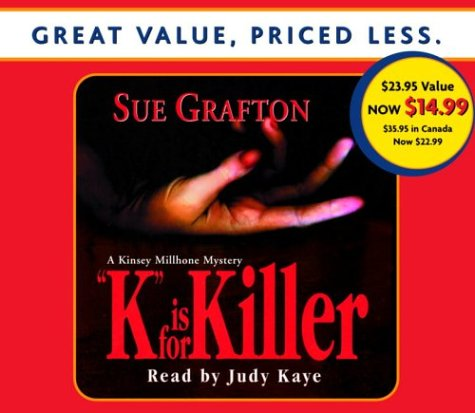 K Is For Killer (A Kinsey Millhone Novel)