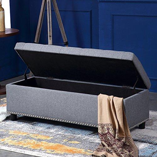Bedroom Fabric Bench - 2