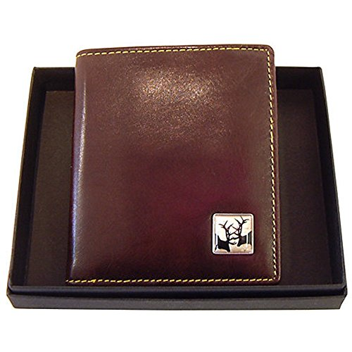Stags Bill Wallet Brown Rutting Brown TYLER amp; Leather Fold TYLER atxqqpCnw