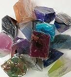 Soap Rocks Set, 6 Piece Palm Stones Random Variety Pack Bundle, TS Pink For Sale