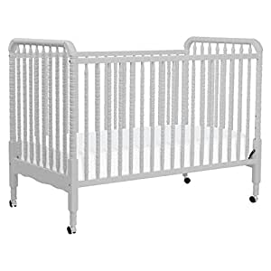DaVinci Jenny Lind 3-in-1 Convertible Crib, Fog Grey