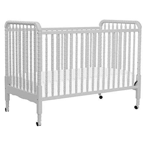 DaVinci Jenny Lind Stationary Crib, Fog Grey