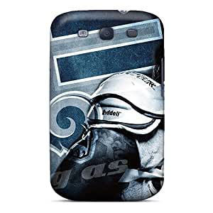 High Quality Hard Cell-phone Case For Samsung Galaxy S3 (ovp14310hCNj) Provide Private Custom Attractive St. Louis Rams Image