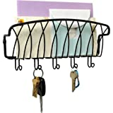 Mounted Mail Organizer and Key Holder by Spectrum
