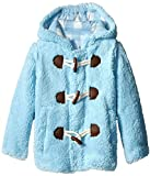 Wippette Little Boys' Wooly Fleece Toggle Coat, Navy, 3T