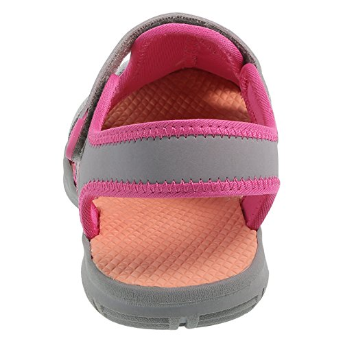 Images of Rugged Outback Grey Pink Girls' Marina Bumptoe 175191040