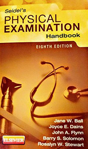 Seidels Physical Examination Handbook 8Ed (Pb 2015)