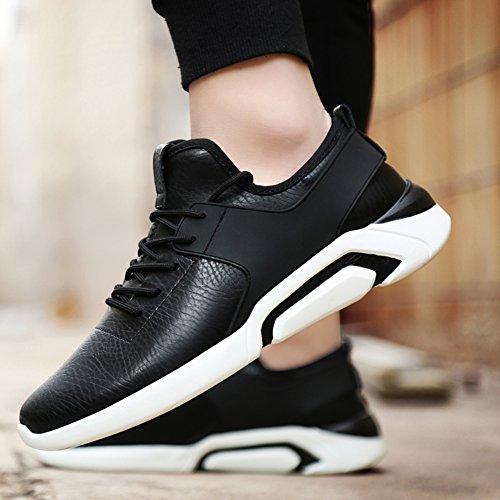 De Légères Chaussures Couple Outdoor Athletic Exercice Mesh Les Hommes Marchant Décontractés Gomnear Noir Respirant Sneaker Pour Sports Course RHUqR5w