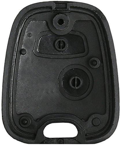 Peugeot 307 Peugeot 307 2 Botón Clave Llaves * * Clave Interruptor chasis Vivienda Peugeot 307: Amazon.es: Electrónica