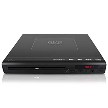 DVD Player for TV,Bencse Compact CD/Disc Player with Remote Control and Built-in PAL/ NTSC System,USB Port Support MP3 Play (Black)