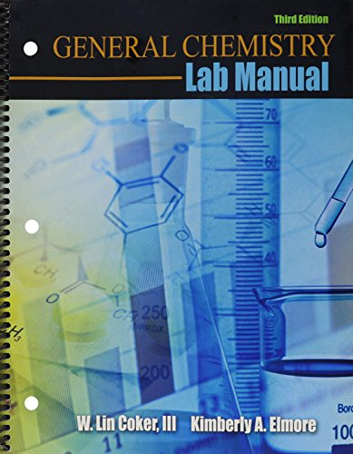 General Chemistry Lab Manual