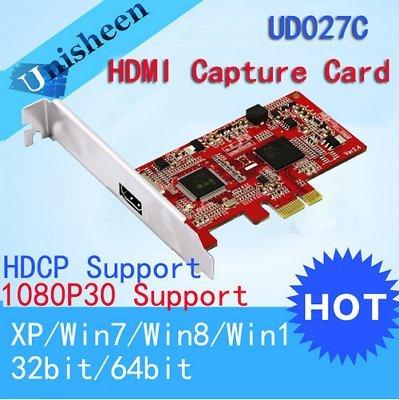 Amazon.com: Tarjeta de captura de vídeo HD PCIe 1080P30 HDMI ...