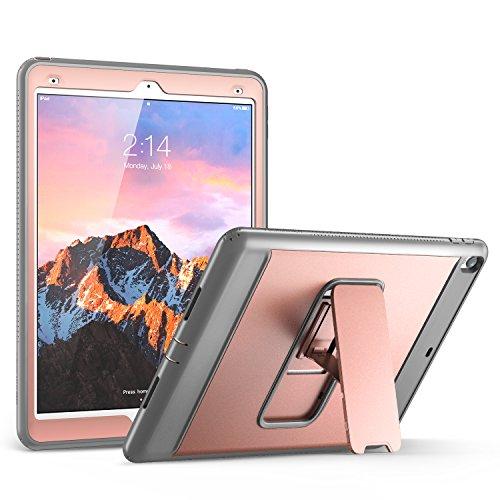 iPad Pro 10.5 Case, YOUMAKER Heavy Duty Kickstand Shockproof