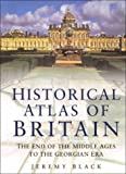 The National Trust Historical Atlas of Britain, Jeremy Black, 0750921285