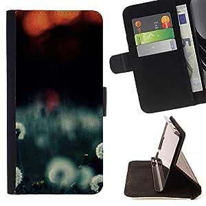 For LG Nexus 5 D820 D821 Case , Planta Naturaleza Forrest Flor 108- la tarjeta de Crédito Slots PU Funda de cuero Monedero caso cubierta de piel