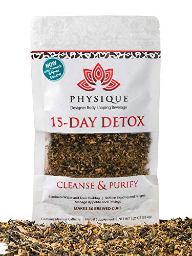 15 Day Natural Weight Loss, Detox and Cleanse Tea | Bloating Relief and Total Tea for your Appetite Suppressant Needs | Best Fitness Tea | Anti-Inflammatory & Laxative Free Teatox | Free Diet Included ()
