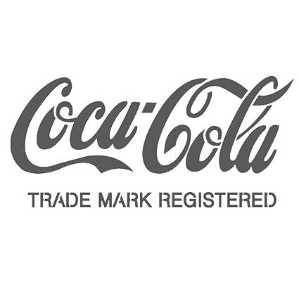 J BOUTIQUE plantillas Cocacola marca registrada tamaño pequeño ...
