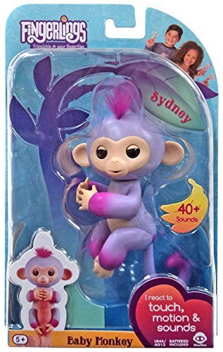 2 Silly Monkeys (Fingerlings - Interactive Baby Monkey - Two Tone - Sydney)