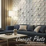 Ekena Millwork WP20X20DEWH Devon EnduraWall