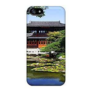 For SIusRfe4059EYjMW The Chinese Garden Protective Case Cover Skin/iphone 5/5s Case Cover