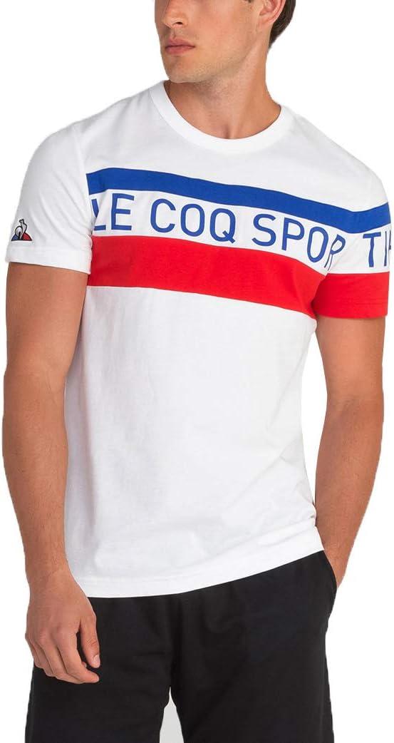 Le Coq Sportif Tri tee SS N 5 New Optical White