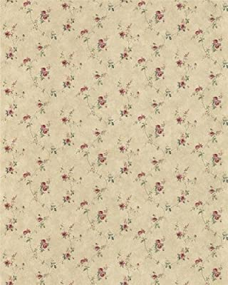 Patton PP27815 Leaf Floral Trail Wallpaper, Beige