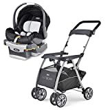 Chicco KeyFit 30 Caddy Stroller, ReclineSure Car Seat, and Base Travel System