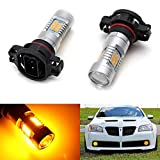 5202 amber led fog light bulbs - iJDMTOY 21-SMD-2835 5202 LED Replacement Bulbs For Fog Lights or Daytime Running Lamps, Amber Yellow