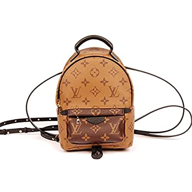 d53d20f26fcf Image Unavailable. Image not available for. Color  Louis Vuitton Palm  Springs Backpack Mini
