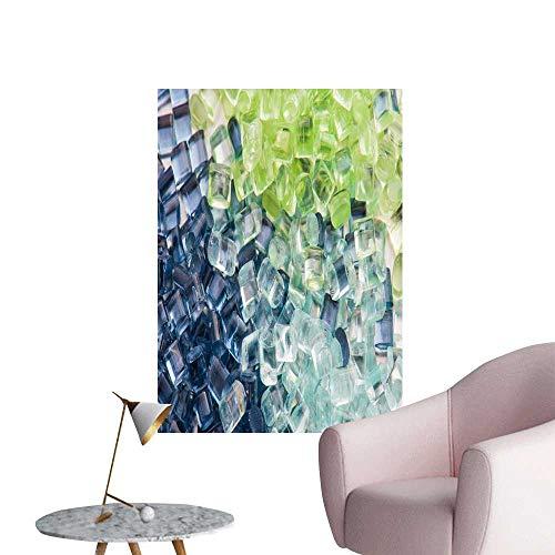 SeptSonne Wall Decals Three Tinte Polymer resins Environmental Protection Vinyl,32